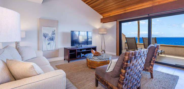 Makena Surf Hotel Suite with Lanai