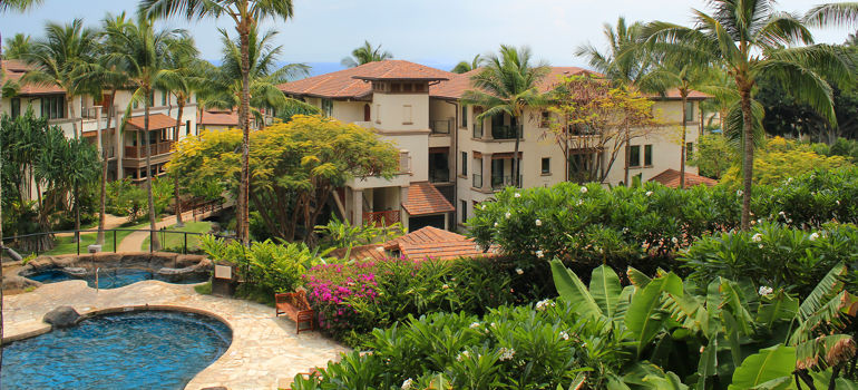 Wailea Beach Villas property and family pool
