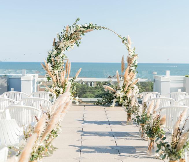 Wild Dunes Rooftop Wedding