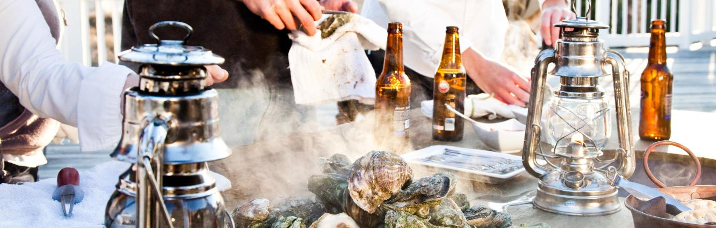 Wild Dunes_Catering_Oysters