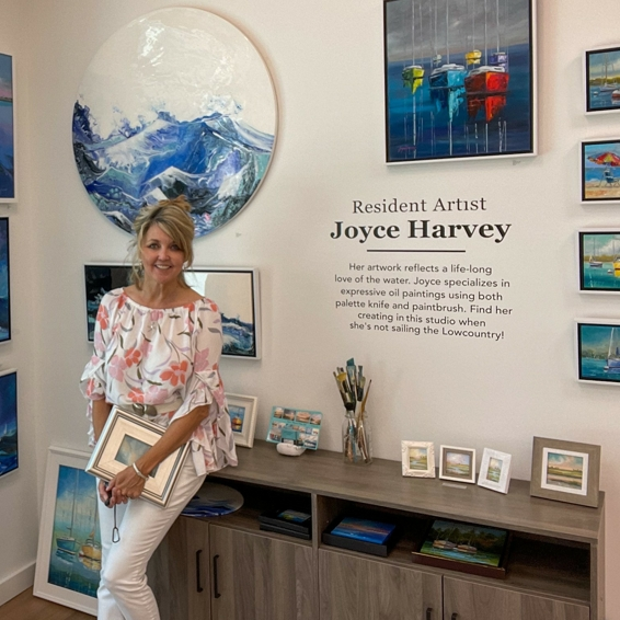 Through the Lens of a Lowcountry Artist: The Gallery at Sweetgrass