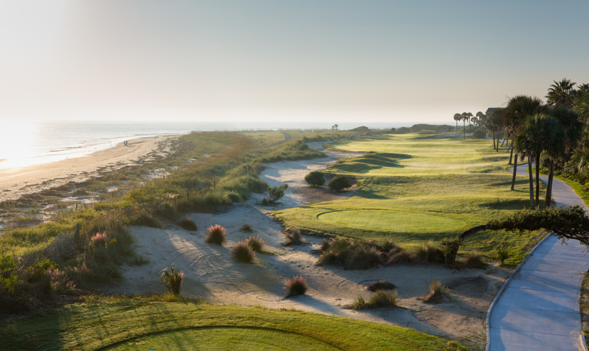 Hold 17 of the newly renovated Tom Fazio designed Links Course- Oceanview