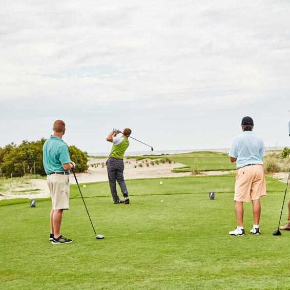 Celebrate National Golf Month at the Dunes