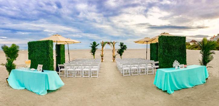 Edited2_Beach Ceremony with Arbor by JW Weddings