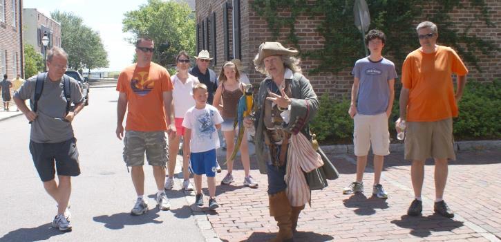 Pirate Walking Tour