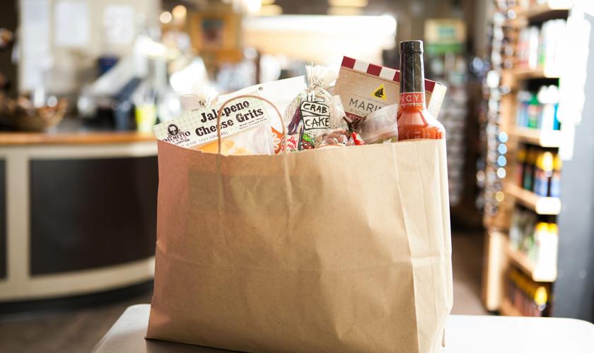 groceries delivered from Hudson's