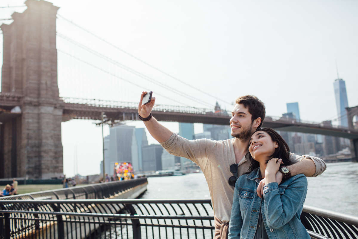 50 Bowery Stock City Couple