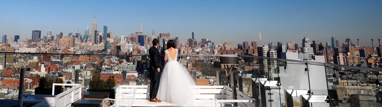 wedding at crown