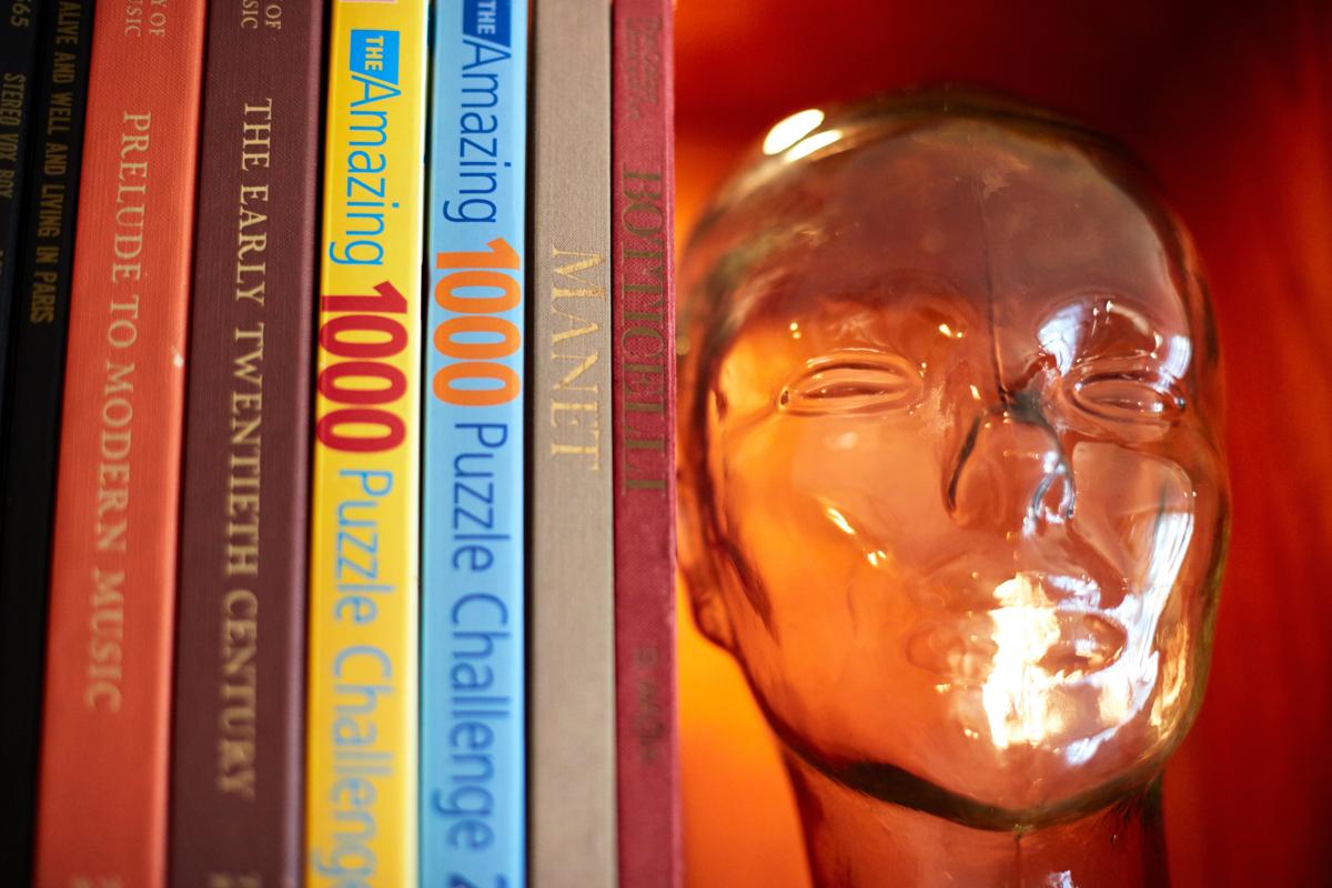 Book Shelf in Lobby