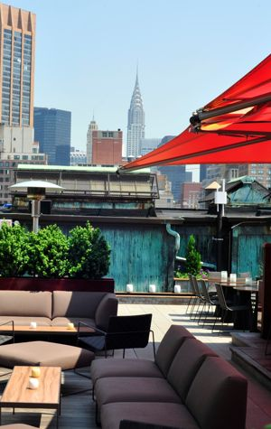 Park South_Rooftop_Sitting Area During Day
