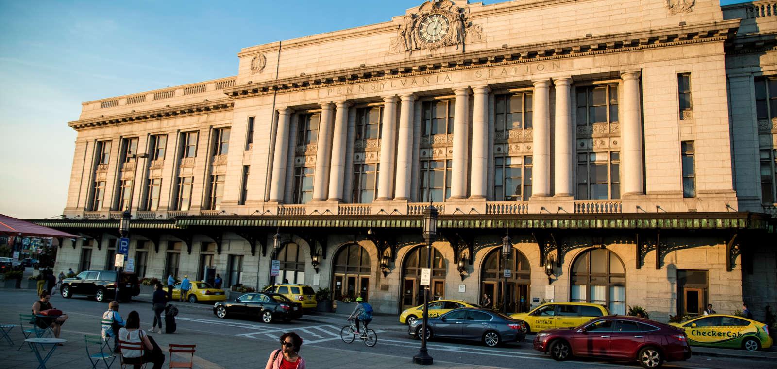 Baltimore Penn Station Front Entrance