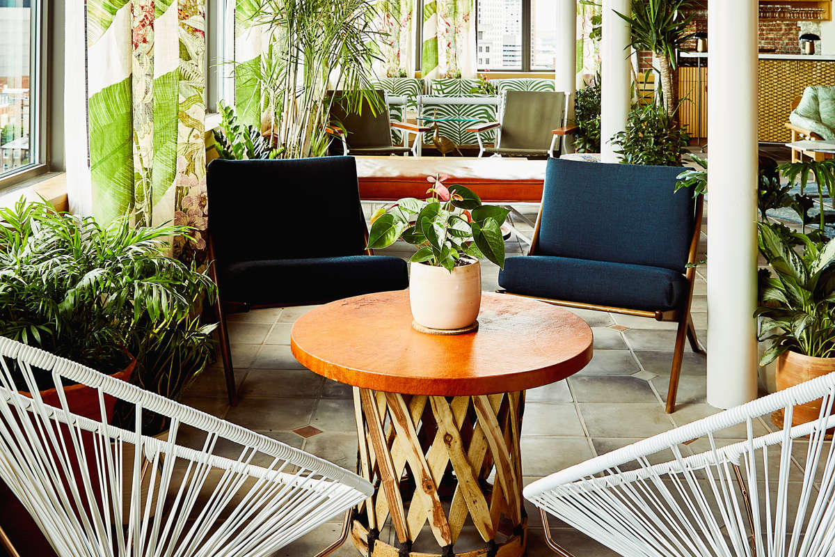 Garden Room at Topside Restaurant and Bar