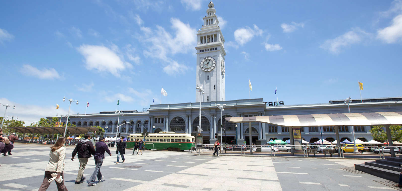 Exterior of San Francisco Ferry Building