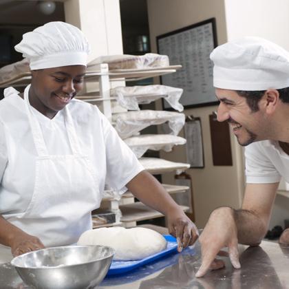 Waterfront Hotel_Stock_Chefs in Kitchen