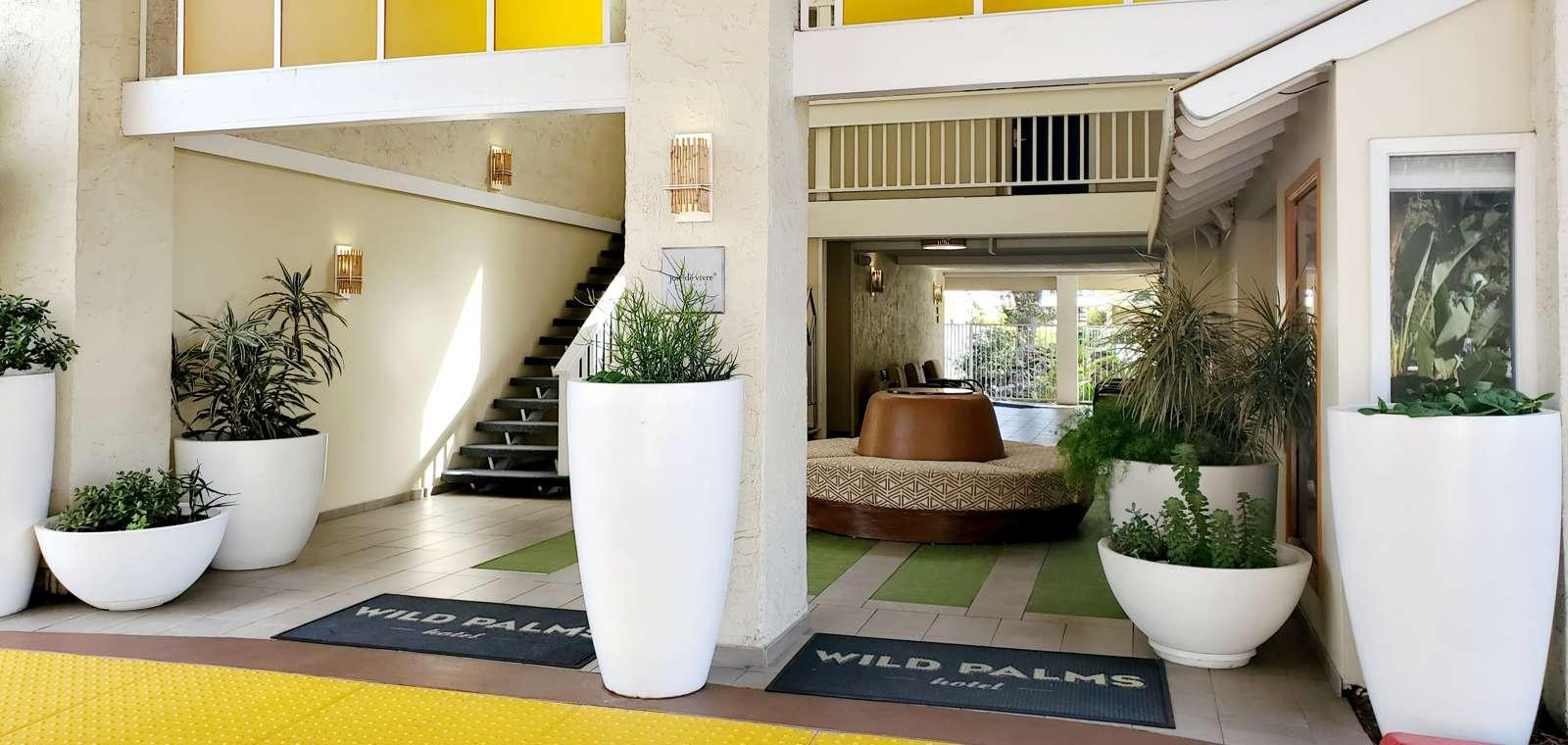 Lobby exterior