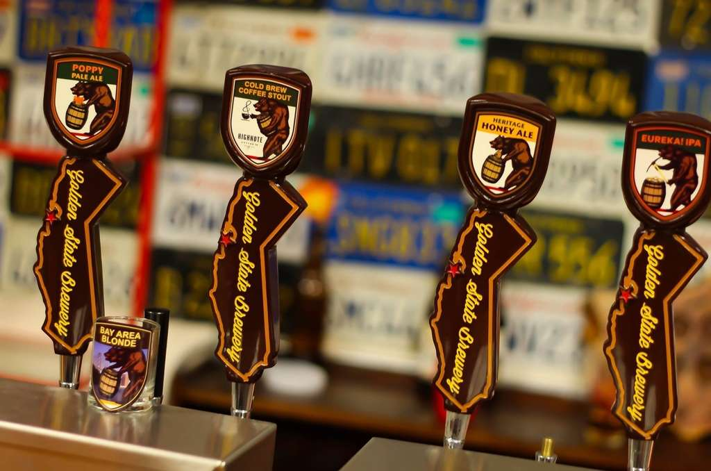 Variety of IPA's on Tap