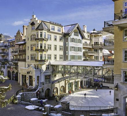 <b>The Arrabelle at Vail Square A Rock Resort Property in Vail, CO.</b>