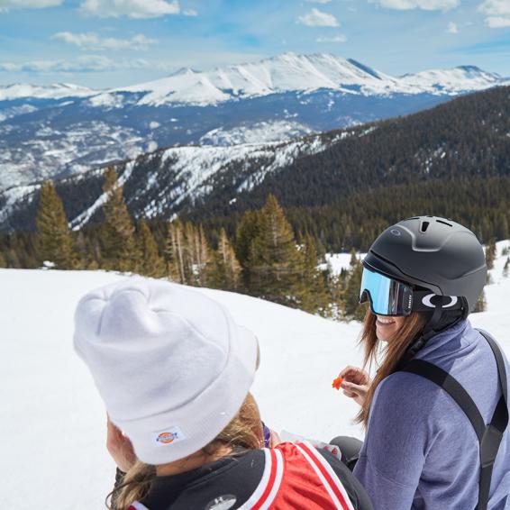 Spring Skiing = Major Fun