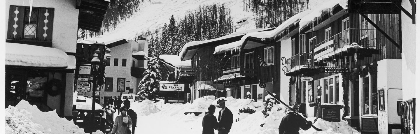 <b>Historical Images In Vail, CO.</b>
