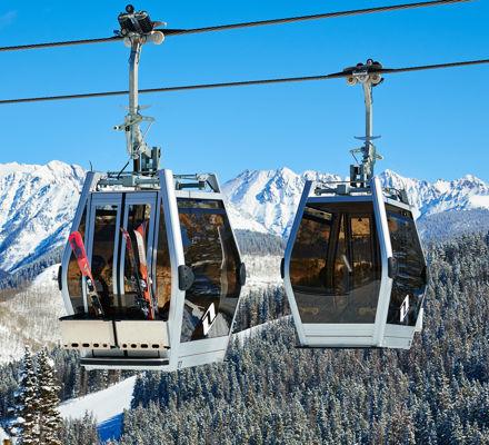 <b>Gondola One In Vail, Colorado.</b>
