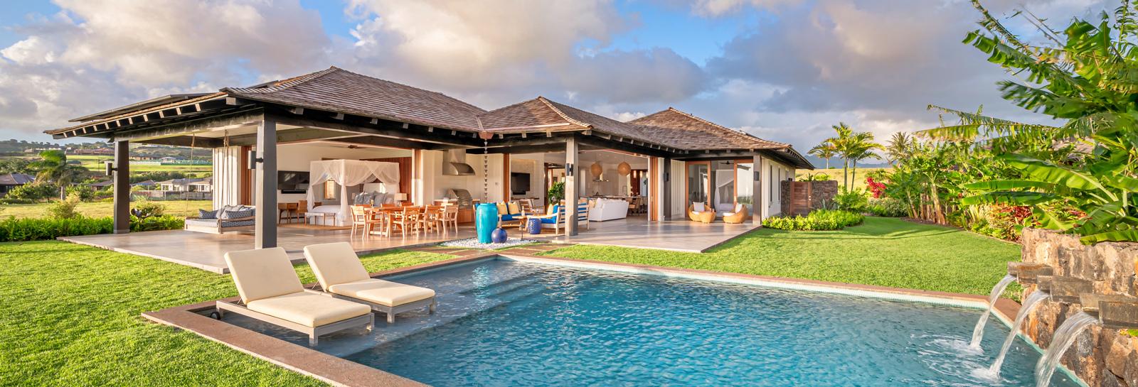 Kauai luxury vacation villa